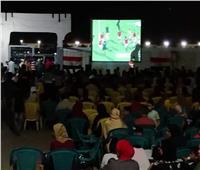 توافد الآلاف بدمياط على مراكز الشباب لمشاهدة مباراة المنتخب