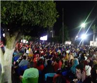 الآلاف يتابعون المباراة الافتتاحية بكفر الشيخ