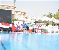 وزير الرياضة يشهد بطولة الجائزة الكبرى للغطس