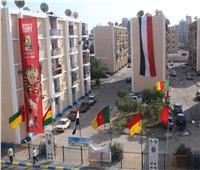 الإسماعيلية: برامج سياحية لمنتخبات المجموعة السادسة في بطولة أفريقيا
