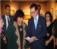 وزير الثقافة تتابع تحية السيمفوني لنوتردام في حضور سفير فرنسا بالقاهرة
