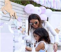 صور.. وزيرة الاستثمار تحتفل بعيد ميلاد حفيدتها «لينا»
