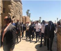 أمم إفريقيا 2019| جولة سياحية لـ«رئيس الموزمبيق» بالأقصر