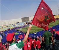 صور| الجماهير المغربية تؤازر منتخبها أمام ناميبيا