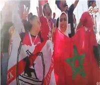 فيديو.. الجماهير المصرية تؤازر «بوطيب» أمام ناميبيا في ستاد السلام