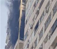 ندب الأدلة الجنائية لمعاينة حريق داخل شقة بالبساتين