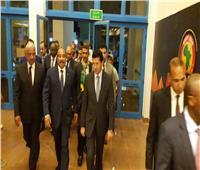الرئيس الموريتاني يحضر مباراة منتخب بلاده في ستاد السويس