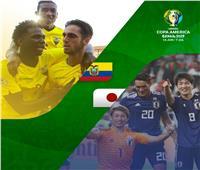 فيديو | الإكوادور تتعادل مع اليابان بهدف لمثله في الشوط الأول بكوبا أمريكا