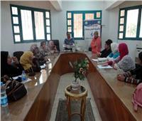 «مياه سوهاج» تنظم ورشة عمل لتعليم السيدات المبادئ الأولية في السباكة لترشيد استهلاك المياه