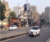 سيولة مرورية بشوارع الجيزة خلال الذروة الثانية من الصباح