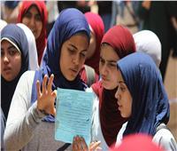 طلاب الثانوية العامة «المكفوفين» يؤدون امتحان الاقتصاد