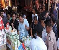 تحرير 40 محضر تمويني مخالف بالمنيا