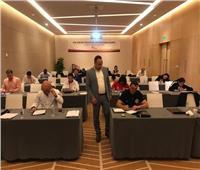 حسن كمال يشارك في تدريب الخبراء الدوليين بالاتحاد الدولي للتايكوندو