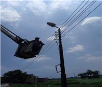 محافظ الشرقية: خطة متكاملة لصيانة أعمدة الكهرباء