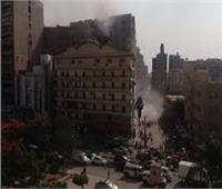 إسعاف 13 مصابا في حريق المنصورة