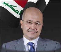 الرئيس العراقي يؤكد خلال لقائه بـ«ماي» أهمية تعزيز الاستقرار في المنطقة