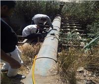 الانتهاء من مشكلة نقص المياه بقرى أولاد نجم بنجع حمادي