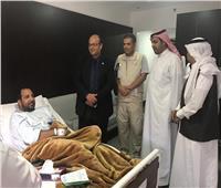قنصلية مصر في جدة تتابع المصابين المصريين في الهجوم الحوثي على مطار أبها