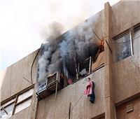 ندب الأدلة الجنائية لمعاينة حريق داخل شقة بمنطقة باب الشعرية