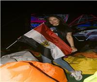 صور| بحضور بيبو وعليش.. هبة يوسف تتألق في حفل «استاد ديونز»