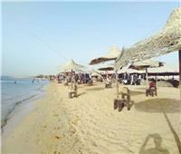صور| شواطئ مصر فـى انتظار المصطافين