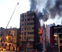 السيطرة على حريق ضخم في سوق الخضار بالعتبة