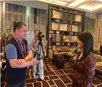 قناة CCTV الصينية تستضيف وزيرة السياحة فى لقاء تليفزيونى