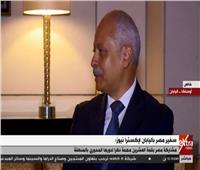 فيديو| سفيرنا في اليابان يكشف أسباب اختيار مصر للمشاركة بقمة العشرين