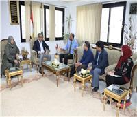 """محافظ سوهاج يلتقي وفد الصندوق الدولي للتنمية الزراعية """"IFAD"""""""