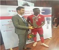 أولينجا أفضل لاعب في مباراة كينيا وتنزانيا