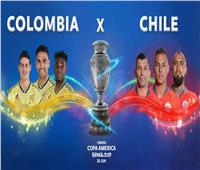 كوبا أمريكا | كولومبيا تتعادل سلبيا مع تشيلي في الشوط الأول