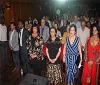 صور| أشرف زكي ولبلبة في افتتاح قصر ثقافة السينما بعد تجديده