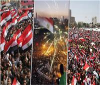 فيديو| من فؤاد حتى السيسي.. «يونيو» شهر الفرحة والإنجاز للمصريين