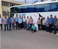 تزامنًا مع احتفالات ٣٠ يونيو .. انطلاق قافلة جامعة المنصورة لجنوب سيناء