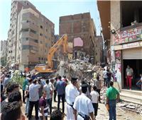 تفاصيل التحقيق في مصرع وإصابة 4 أشخاص في انهيار عقار سكني بإمبابة