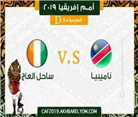 أمم إفريقيا 2019| بث مباشر| مباراة الكوت ديفوار وناميبيا
