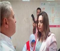 محافظ دمياط تتفقد أعمال مبادرة صحة المرأة