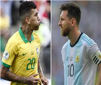 انطلاق مباراة البرازيل والأرجنتين في نصف نهائي كوبا أمريكا