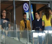 كوبا أمريكا 2019  نيمار يحضر مباراة البرازيل الأرجنتين