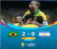 فيديو| البرازيل تتأهل لنهائي كوبا أمريكا بهدفين في الأرجنتين