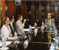 وزير الكهرباء يستقبل نائب رئيس البنك الأوربي لإعادة الإعمار