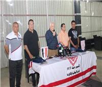 مرتضى منصور يستقبل وفد من الإعلاميين العرب والأفارقة