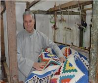 «سمنه».. يعيدإحياء صناعة الكليم اليدويبالبحيرة