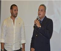 صور| صناع السينما يشاركون في حفل تأبين المخرج محمد النجار