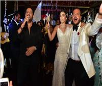 150 صورة| نجوم الفن يحتلفون بزفاف نجل ماجد المصري.. وحماقي يُشعل الأجواء