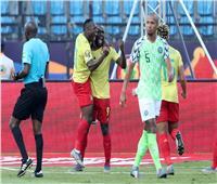 أمم إفريقيا 2019  الكاميرون تتقدم على نيجيريا في الشوط الأول