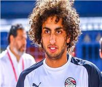 الجماهير تدعم عمرو وردة قبل انطلاق مباراة مصر وجنوب أفريقيا