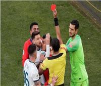 كوبا أمريكا 2019  «ميسي» يطرد من مباراة الأرجنتين وتشيلي «فيديو»