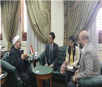 مفتي الجمهورية يستقبل سفير تايلاند لبحث أوجه تعزيز التعاون الديني