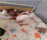 فيديو وصور| «شهامة شاب» شبرا الخيمة انقذ معاق من النباشين.. فأحرقوه